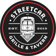 This is the restaurant logo for Street Car Grille & Tavern