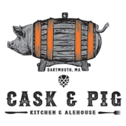 This is the restaurant logo for Cask & Pig