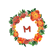 This is the restaurant logo for Margaritas