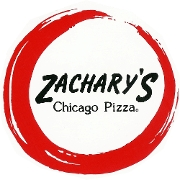 This is the restaurant logo for Zachary's Chicago Pizza