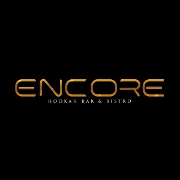 This is the restaurant logo for Encore Hookah Bar & Bistro