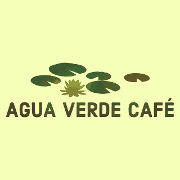 This is the restaurant logo for Agua Verde Cafe Food Truck