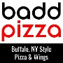 Restaurant logo for baddpizza - Falls Church