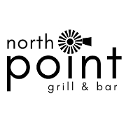 This is the restaurant logo for North Point Grill & Bar