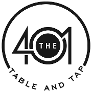 This is the restaurant logo for The '401 Table and Tap