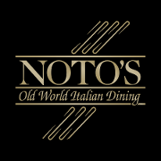 This is the restaurant logo for Noto's Old World Italian Dining