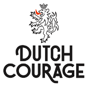 This is the restaurant logo for Dutch Courage