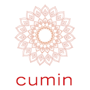 This is the restaurant logo for Cumin