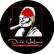 This is the restaurant logo for Dona Habana Restaurant