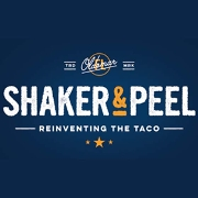 This is the restaurant logo for Shaker & Peel