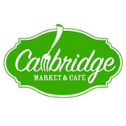 This is the restaurant logo for Cambridge Market & Cafe
