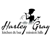 This is the restaurant logo for Harley Gray Kitchen & Bar