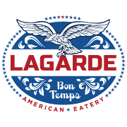 This is the restaurant logo for Lagarde
