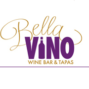 This is the restaurant logo for Bella Vino