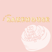 This is the restaurant logo for The Flora Bakehouse