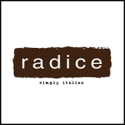 This is the restaurant logo for Radice