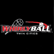 This is the restaurant logo for WhirlyBall Twin Cities