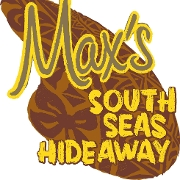 This is the restaurant logo for Max's South Seas Hideaway