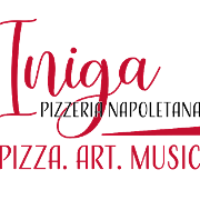 This is the restaurant logo for Iniga Pizzeria Napoletana
