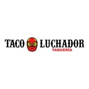 This is the restaurant logo for El Taco Luchador
