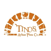 This is the restaurant logo for Tino's Artisan Pizza Co.