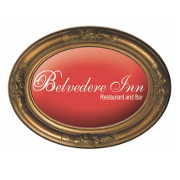 This is the restaurant logo for Belvedere