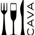 This is the restaurant logo for Cava Tapas and Wine Bar