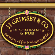 This is the restaurant logo for J.J. Grimsby & Co. Restaurant