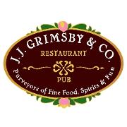 This is the restaurant logo for J.J. Grimsby & Co. Restaurant