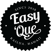 This is the restaurant logo for Easy 'Que