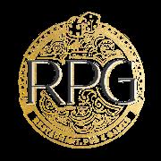 This is the restaurant logo for RPG (Restaurant, Pub & Games)