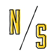 This is the restaurant logo for NS