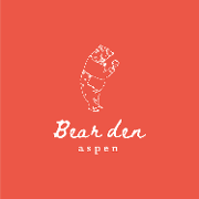 This is the restaurant logo for Bear Den Aspen