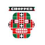 This is the restaurant logo for Chopper