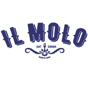 This is the restaurant logo for il Molo