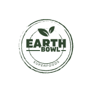 This is the restaurant logo for Earth Bowl Superfoods