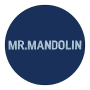 This is the restaurant logo for Mr.Mandolin