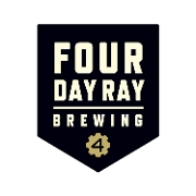 This is the restaurant logo for Four Day Ray Brewing