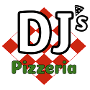 Restaurant logo for DJ's Pizzeria