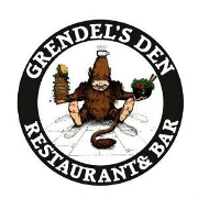 This is the restaurant logo for Grendel's Den Restaurant & Bar