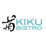 This is the restaurant logo for KIKU BISTRO