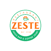 This is the restaurant logo for ZESTE Restaurant and Juice Bar