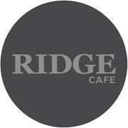 This is the restaurant logo for Ridge Cafe