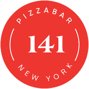 This is the restaurant logo for Pizzabar 141