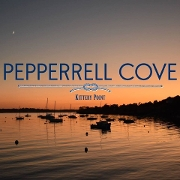 This is the restaurant logo for Pepperrell Cove