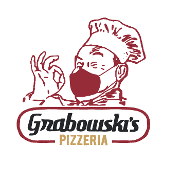 This is the restaurant logo for Grabowski's