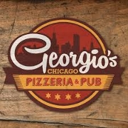 This is the restaurant logo for Georgio's Pizza