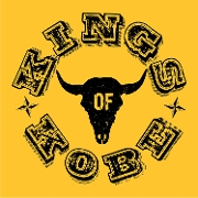 This is the restaurant logo for Kings of Kobe