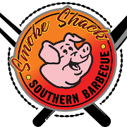 This is the restaurant logo for Smoke Shack