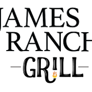This is the restaurant logo for JAMES RANCH GRILL
